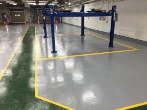 Industrial Floor Restoration